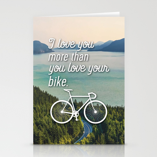 I love you more than you love your bike