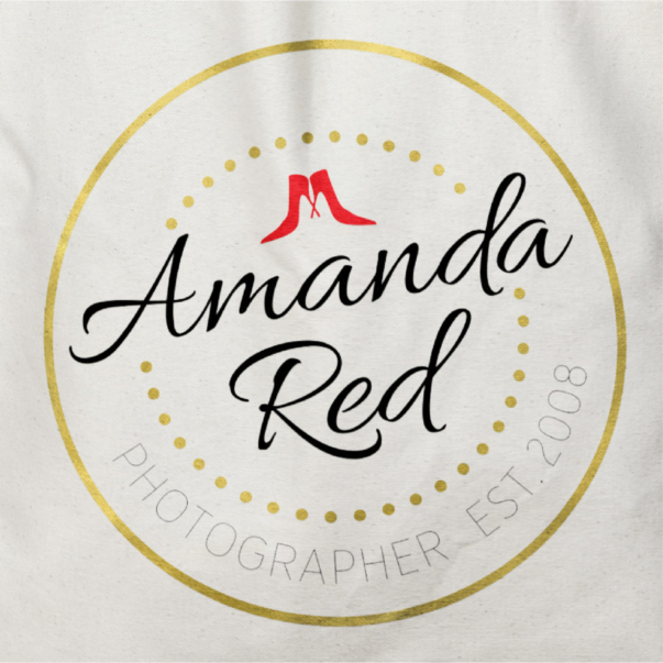 Amanda Red Weddings :: Logo Design + Branding